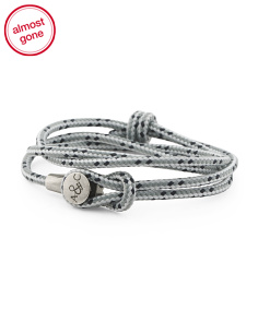 Made In Great Britain 925 Dundee Rope Bracelet
