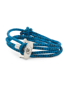 Made In Great Britain 925 Union Rope Anchor Bracelet