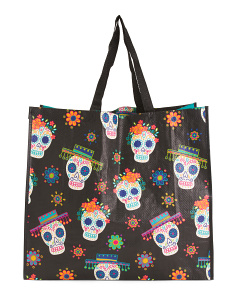 Day Of Dead Fiesta Reusable Bag