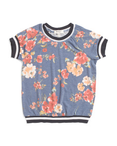 Big Girls Floral Top