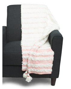 Woven Stripe Throw