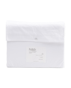 Made In Portugal Organic Cotton Fringe Sheet Set