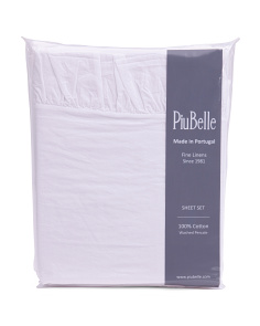 Made In Portugal Ruffle Sheet Set