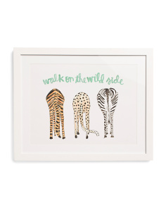 16x20 Wild Side Matted Framed Wall Art