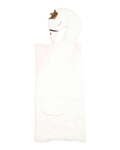 Swan Princess Plush Sleeping Bag
