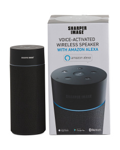 Voice Activated Wireless Speaker With Amazon Alexa