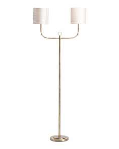 Double Armed Floor Lamp