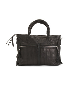 Leather Tara Satchel