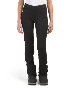 Brushed Fleece Lined Bootcut Pants