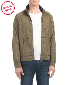 Kawok Raglan Mock Zip Top