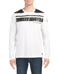Nolano Long Sleeve Crew Neck Top