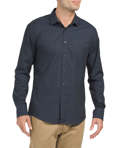 Long Sleeve Faux Hacking Pocket Shirt