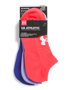 3pk Athletic Solo Sports Style Socks