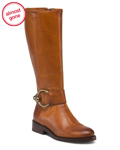 High Shaft Leather Boots