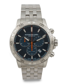Men's Swiss Made Chrono Tango Bracelet Watch