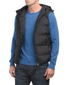 Gilet Row Vest With Hood