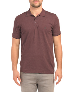 Single Tipped Stretch Pique Polo
