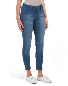 Petite High Waist Skinny Ankle Jeans
