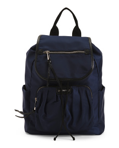Pleated Pocket Backpack