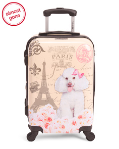20in Poodle Hardside Carry-on Spinner