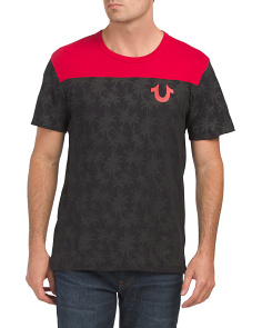 Palm Sport Short Sleeve Football Tee
