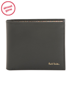 Made In Italy Signature Leather Wallet