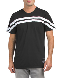 Twill Tape Stripe Tee