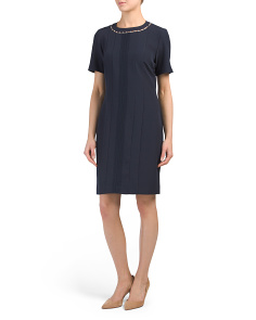 Short Sleeve Prado Career Dress
