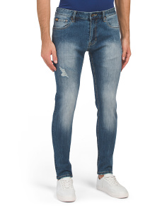 Skinny Fit Medium Vintage Wash Jeans