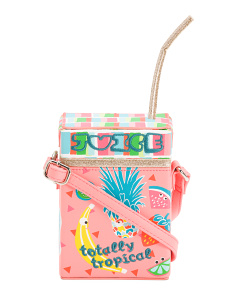 Totally Tropical Juice Box Crossbody