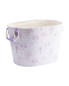 Oval Owl Kids Storage Basket