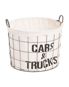 Medium Cars & Trucks Basket