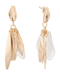 Gold Statement Earrings