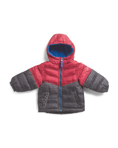 Infant Boys Spacedye Puffer Jacket