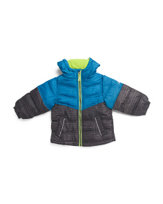 Toddler Boys Spacedye Puffer Jacket