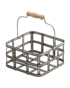 Metal Square Storage Caddy