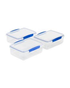 3pk Pack Container Set