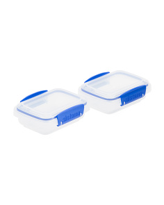 2pk Klip It Container Set