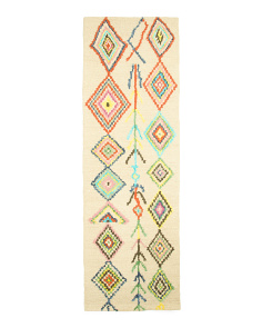 Made In India Bohemian Look Wool Runner