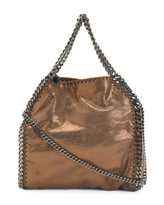 Made In Italy Shaggy Deer Falabella Mini Tote