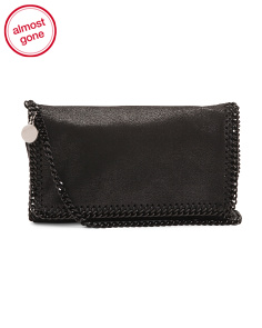 Made In Italy Shaggy Deer Clutch