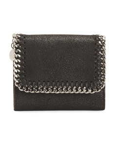 Made In Italy Falabella Small Flap Wallet