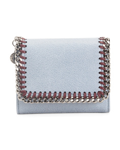 Made In Italy Falabella Flap Wallet