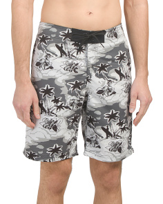 Surfer Print Board Shorts