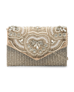 Beaded Crystal Clutch