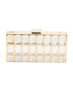 Crystal Stone Clutch
