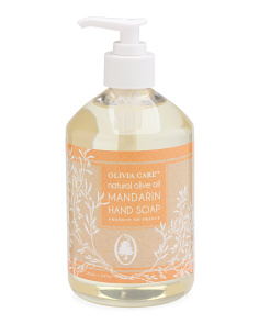 Made In France 18.5oz Mandarin Hand Soap