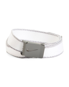 Men's Knit Web Belt