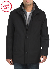 Wool Blend Amherst Coat