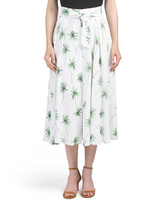 Made In Usa Jackie Midi Skirt